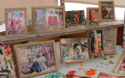 Souffle de création au marché de Lajares