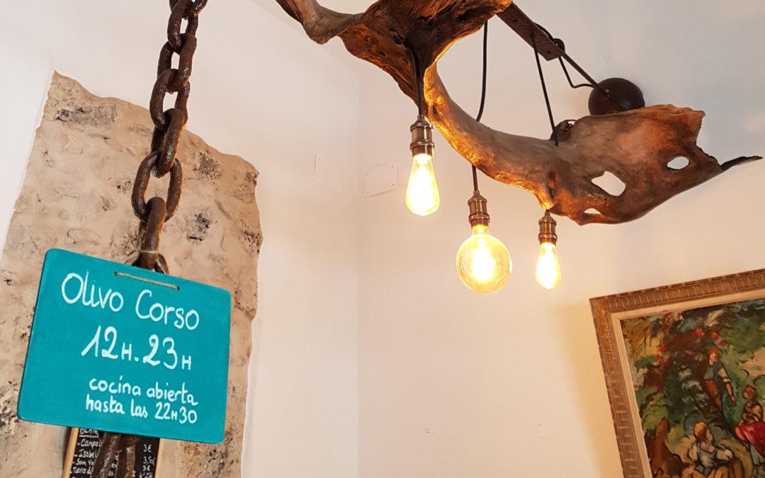Gourmandises compartidos en Olivo Corso en El Cotillo